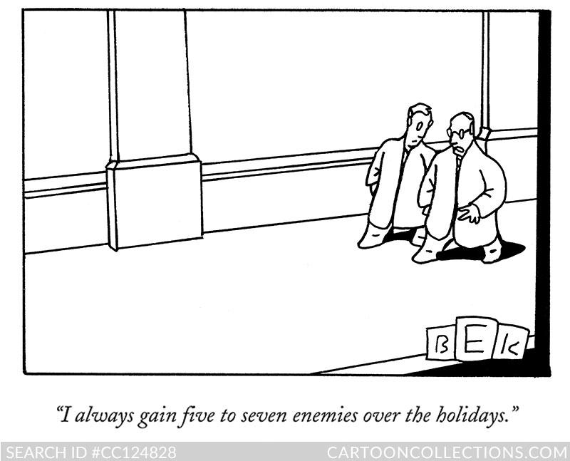 CartoonCollections.com - Christmas cartoons - Bruce Eric Kaplan