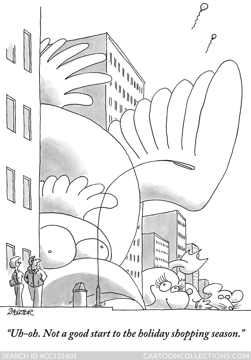 CartoonCollections.com - Thanksgiving cartoons - Jack Ziegler