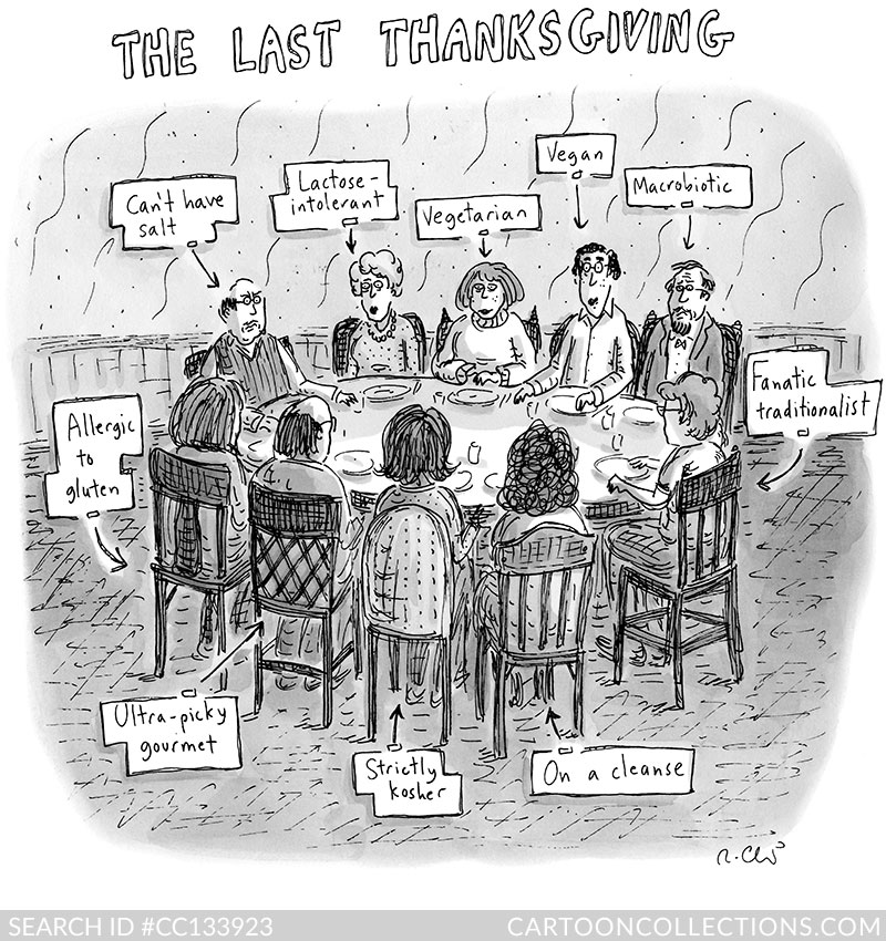 CartoonCollections.com - Thanksgiving cartoons - Roz Chast