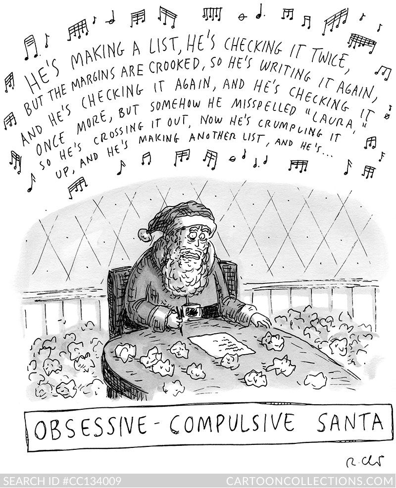CartoonCollections.com - Christmas cartoons - Roz Chast
