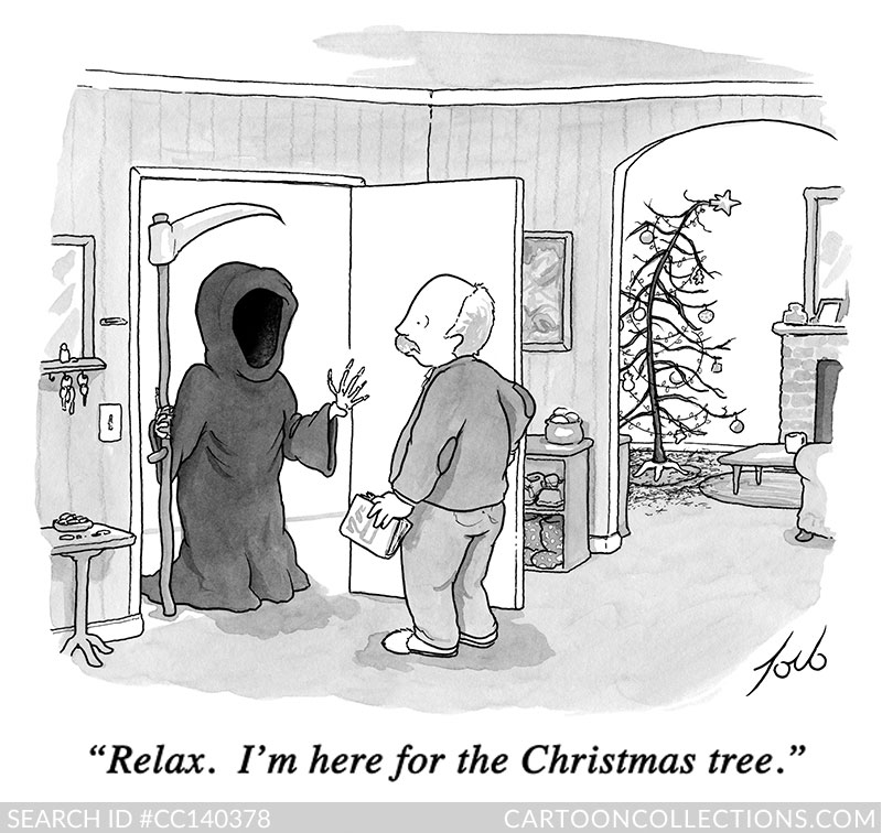 CartoonCollections.com - Christmas cartoons - Tom Toro