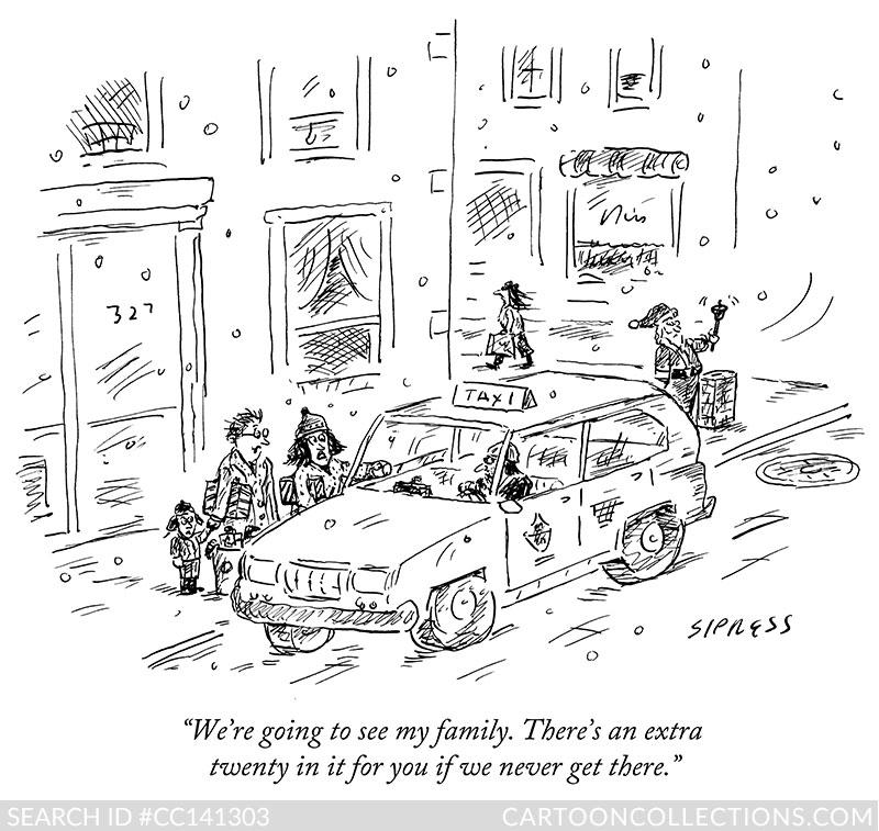 CartoonCollections.com - Thanksgiving cartoons - David Sipress