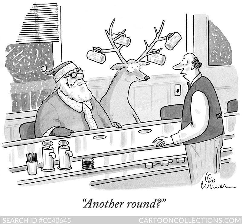 CartoonCollections.com - Christmas cartoons - Leo Cullum