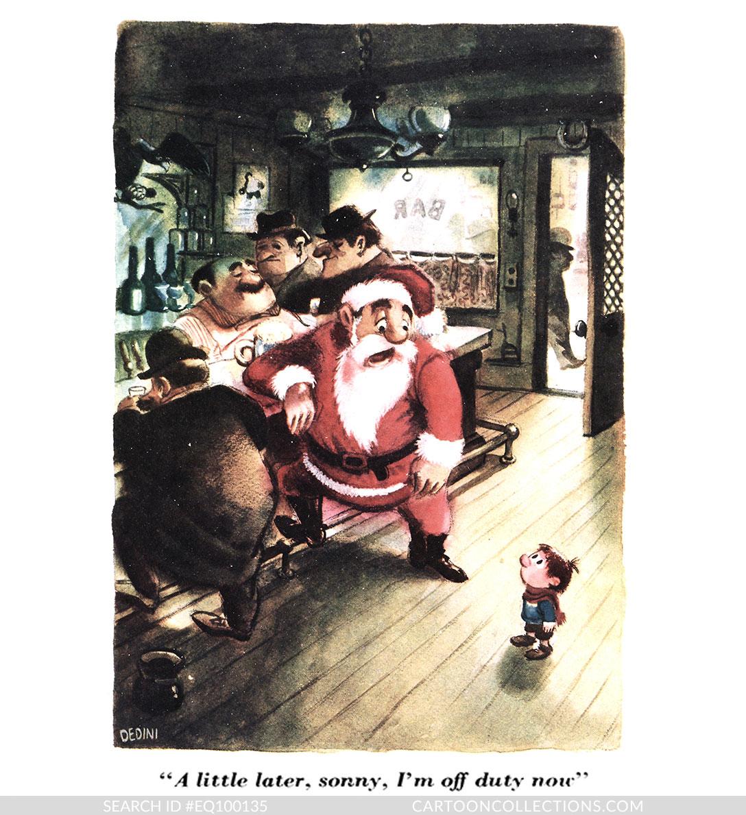 CartoonCollections.com - Bad Santa cartoons - Eldon Dedini