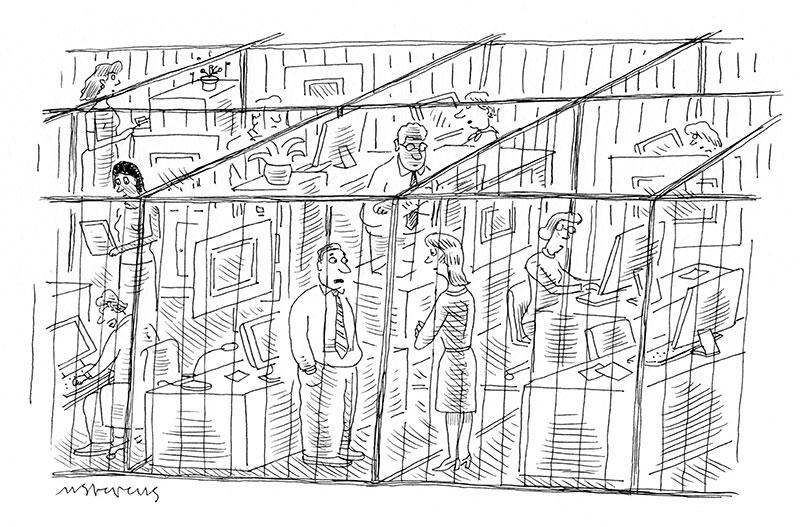 Mick Stevens for Cartoon Caption Contest