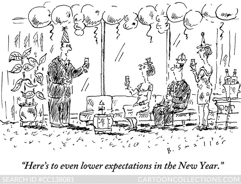 CartoonCollections.com - New Year's cartoons - Barbara Smaller
