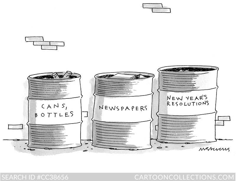 CartoonCollections.com - New Year's cartoons - Mick Stevens