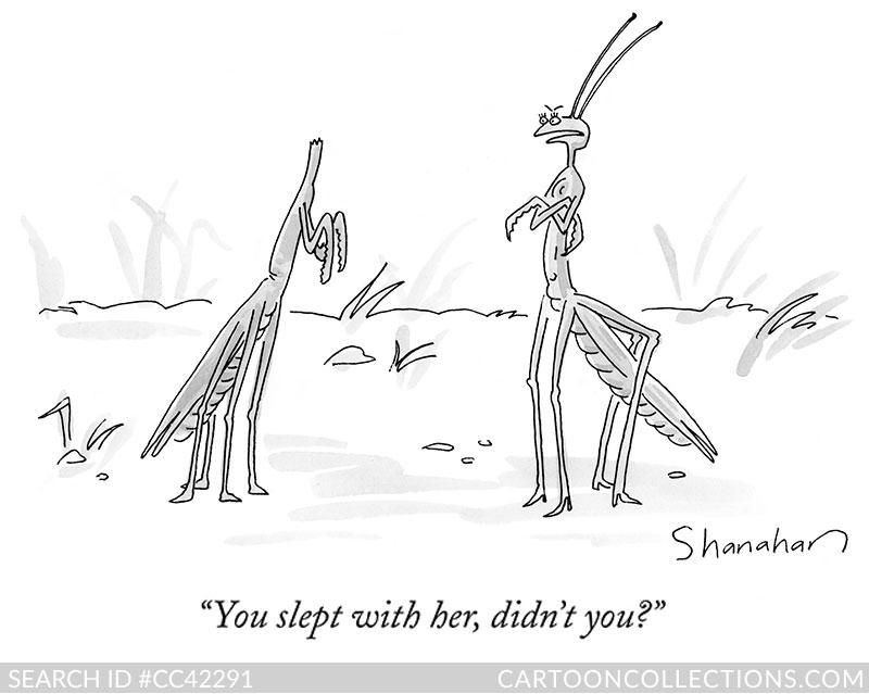New Yorker Cartoons - Danny Shanahan