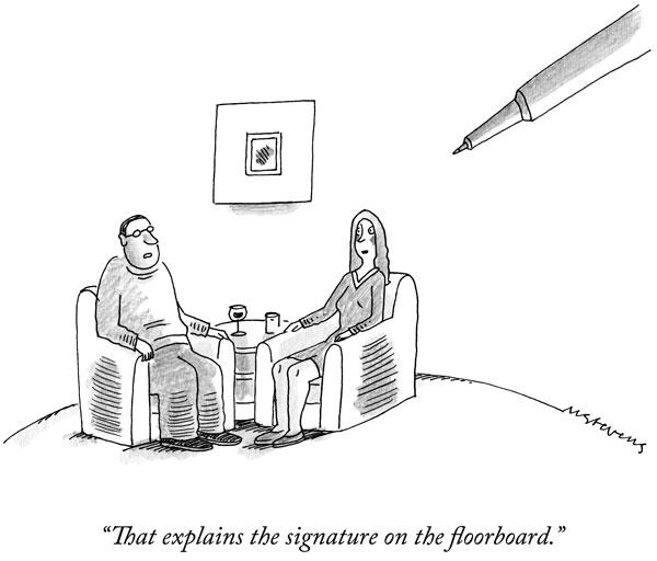 New Yorker Cartoon Caption Contest winner