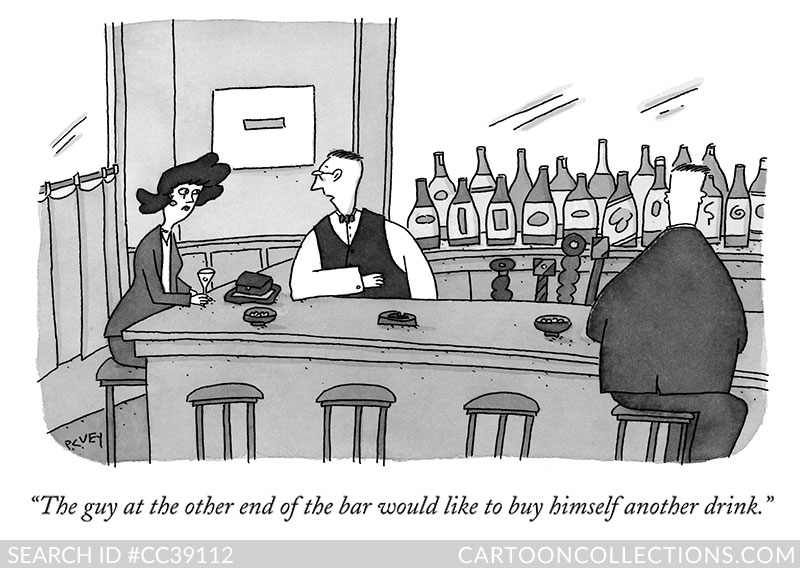 New Yorker Cartoons - P.C. Vey