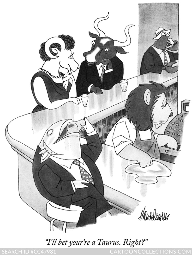 New Yorker Cartoons - J.B. Hnadlesman
