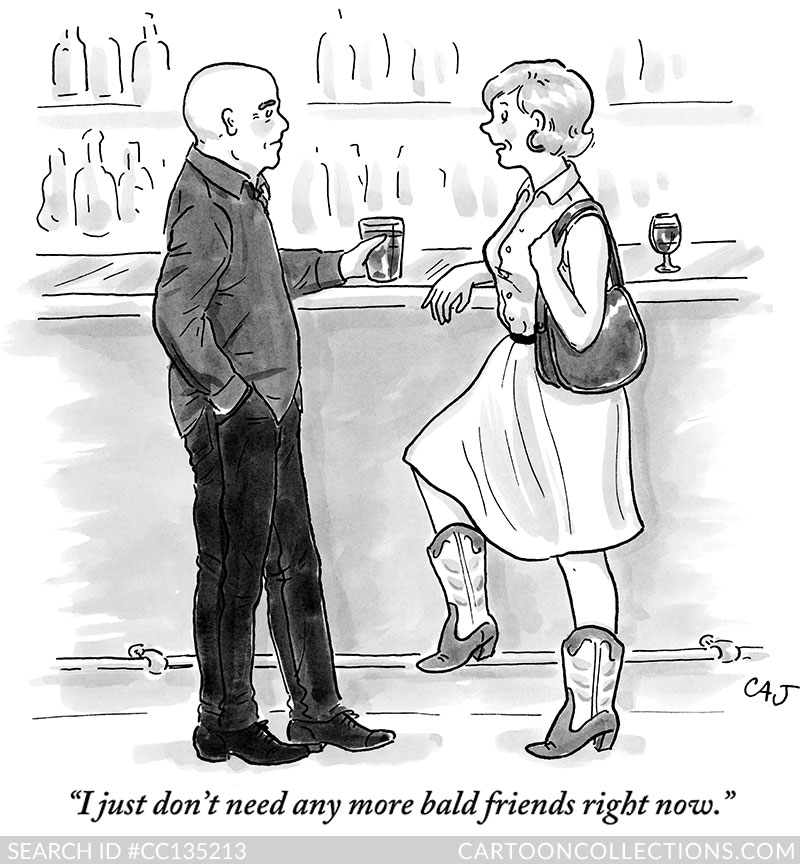 New Yorker Cartoons - Carolita Johnson
