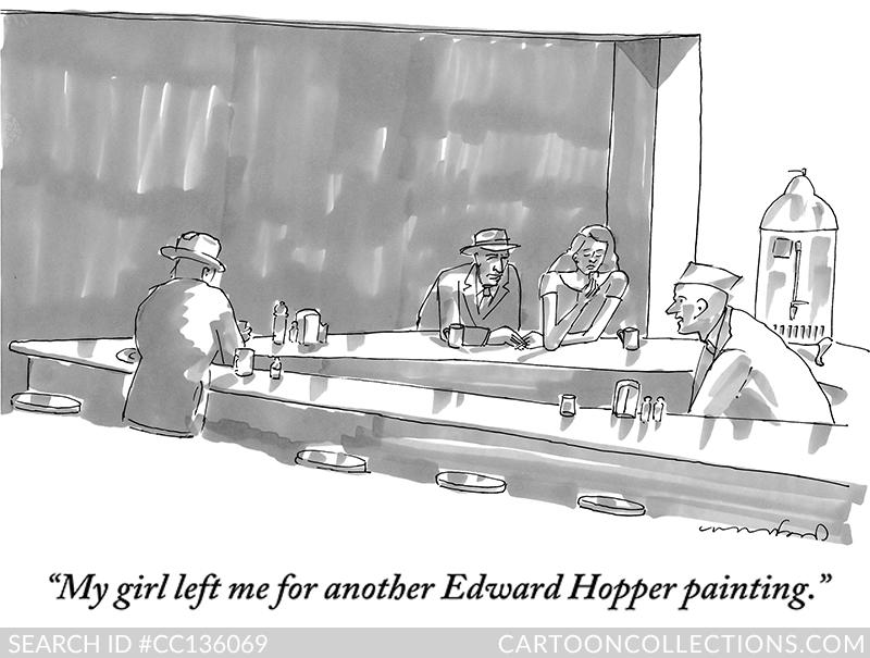 New Yorker Cartoons - Michael Crawford