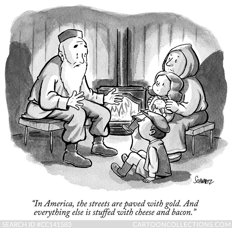 CartoonCollections.com CC141583h