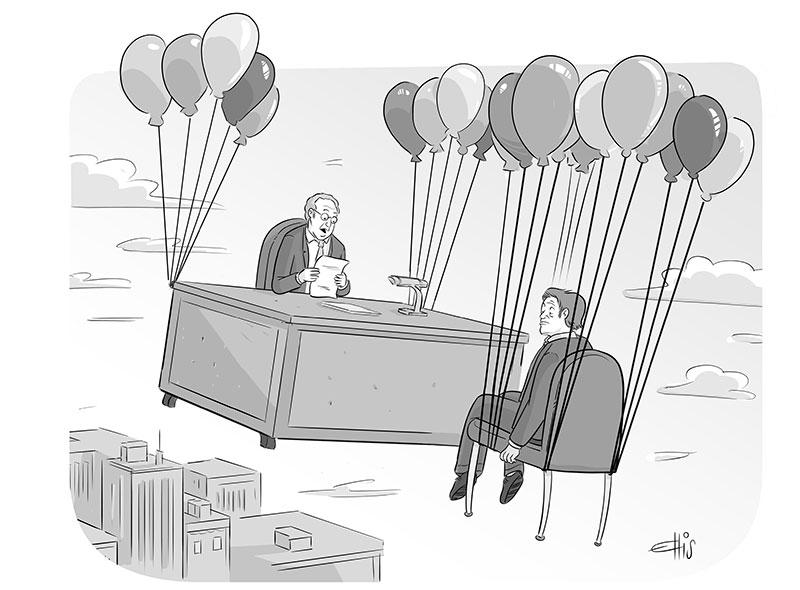 Ellis Rosen, Cartoon Caption Contest