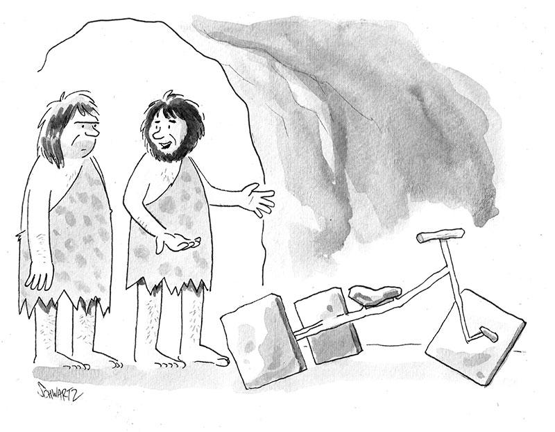 Cartoon Caption Contest - Ben Schwartz