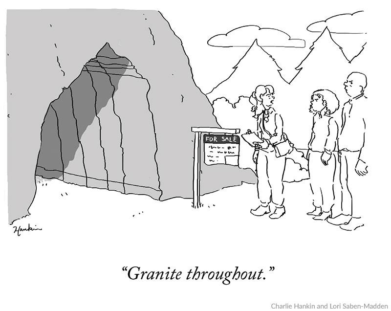 Cartoon caption Contest - Charlie Hankin