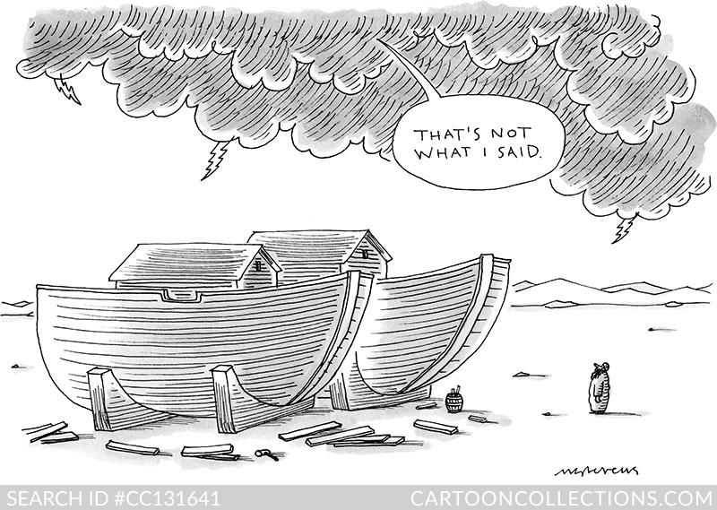 CartoonCollections.com - Mick Stevens - God Cartoons