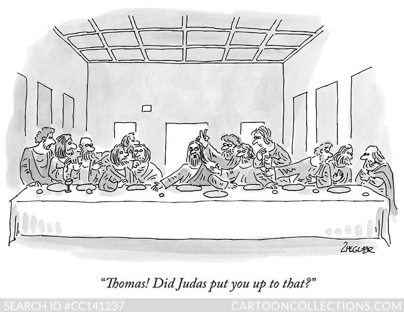 CartoonCollections.com - Jack Ziegler - God Cartoons