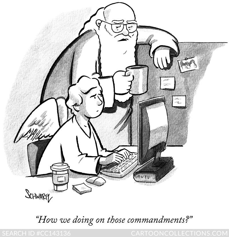 CartoonCollections.com - Benjamin Schwartz- Cartoons for Powerpoint