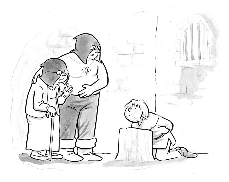 Cartoon Captions Contest
