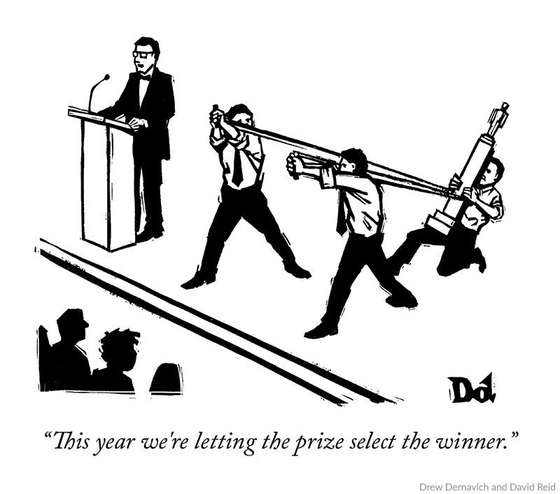 Cartoon Caption Contest Winner