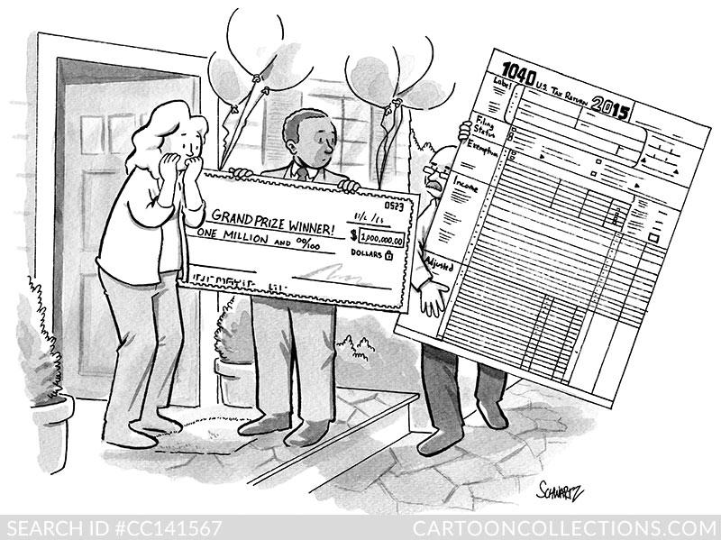 Ben Schwartz cartoon