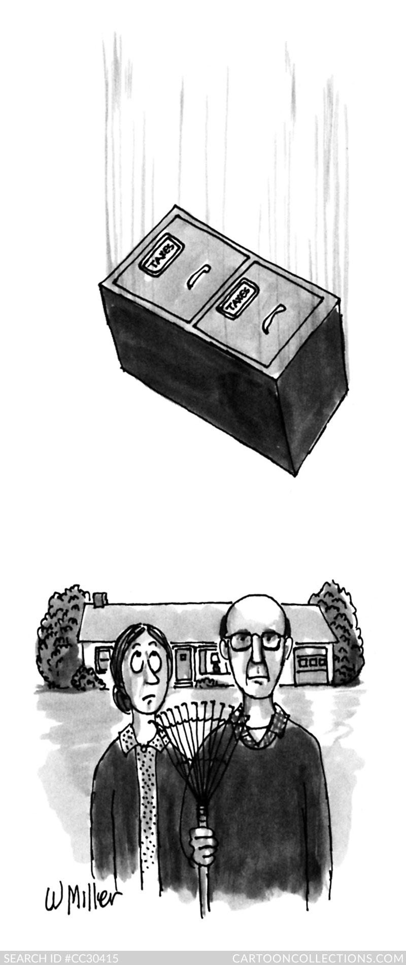 Warren Miller cartoon