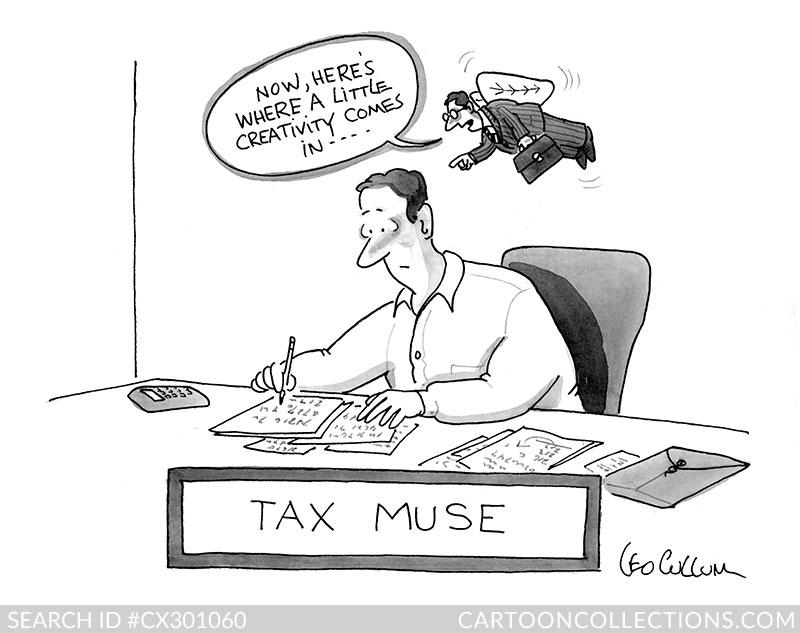 Leo Cullum cartoon