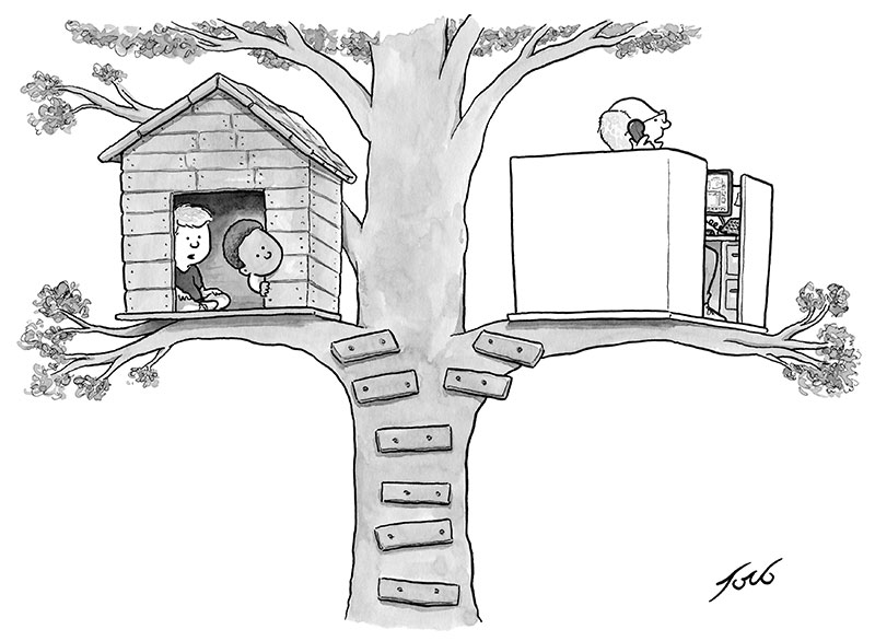 Tom-Toro---Tree-House-Cubicle-CAPTION-CONTEST