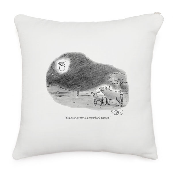 New Yorker Throw Pillows
