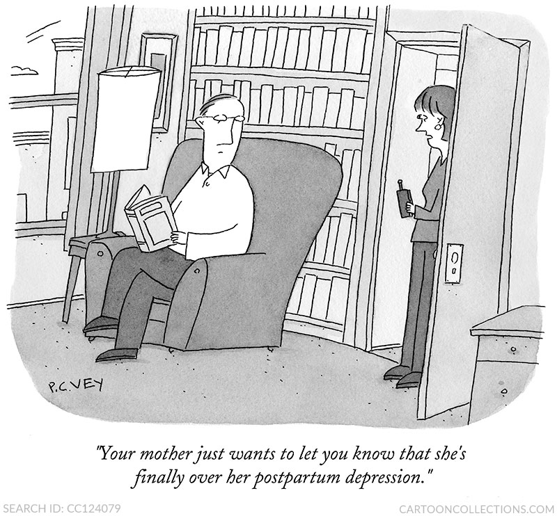 P.C. Vey cartoon