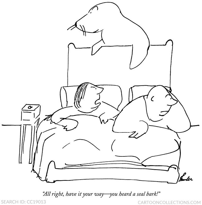 James Thurber, Cartooncollections.com