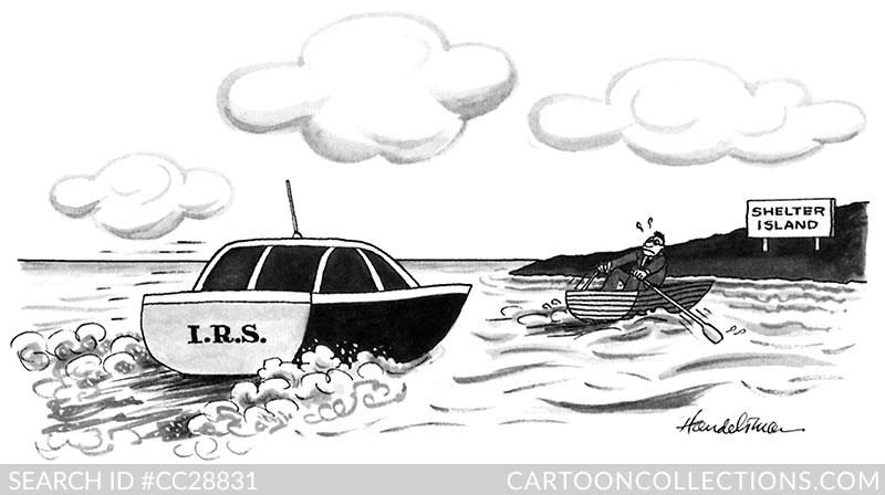 J.B. Handlesman cartoon