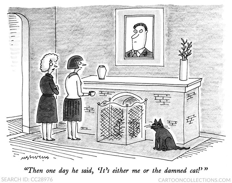 Mick Stevens, Cartooncollections.com