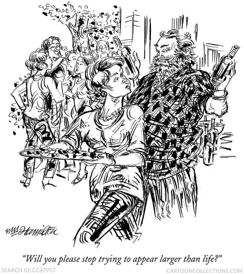 William Hamilton, Cartooncollections.com