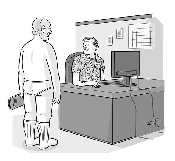 Cartoon Caption Contest Ellis Rosen