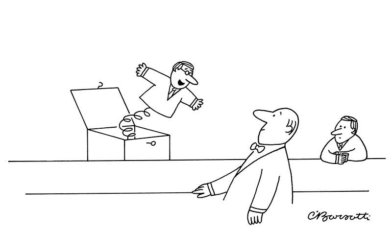 Cartoon Caption Contest Charles Barsotti