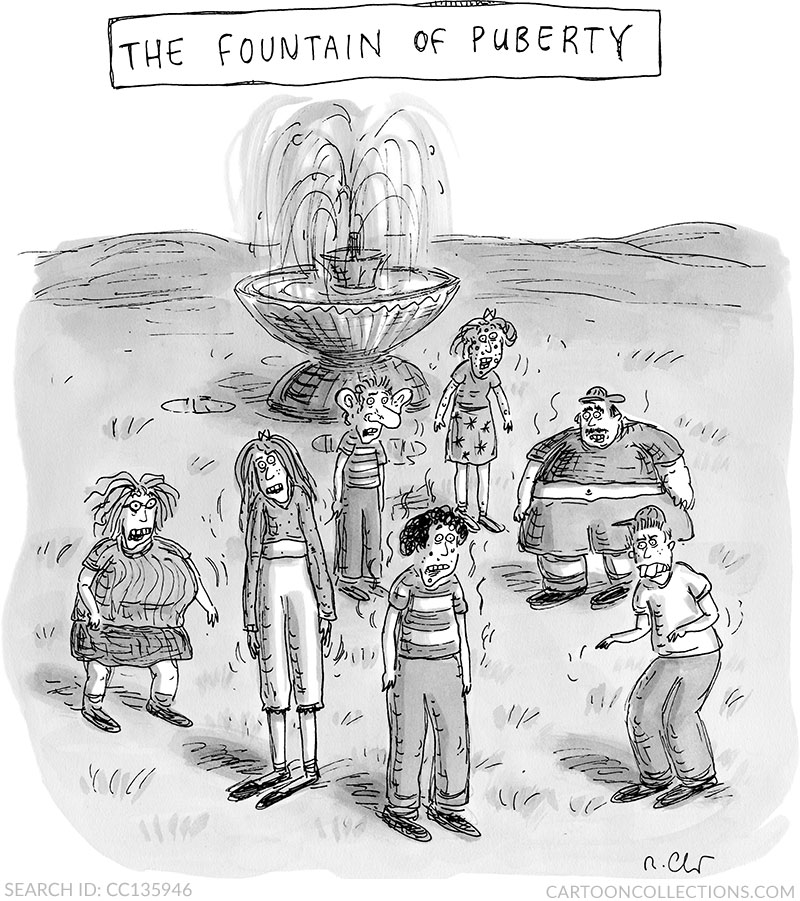 Roz Chast, CartoonCollections.com
