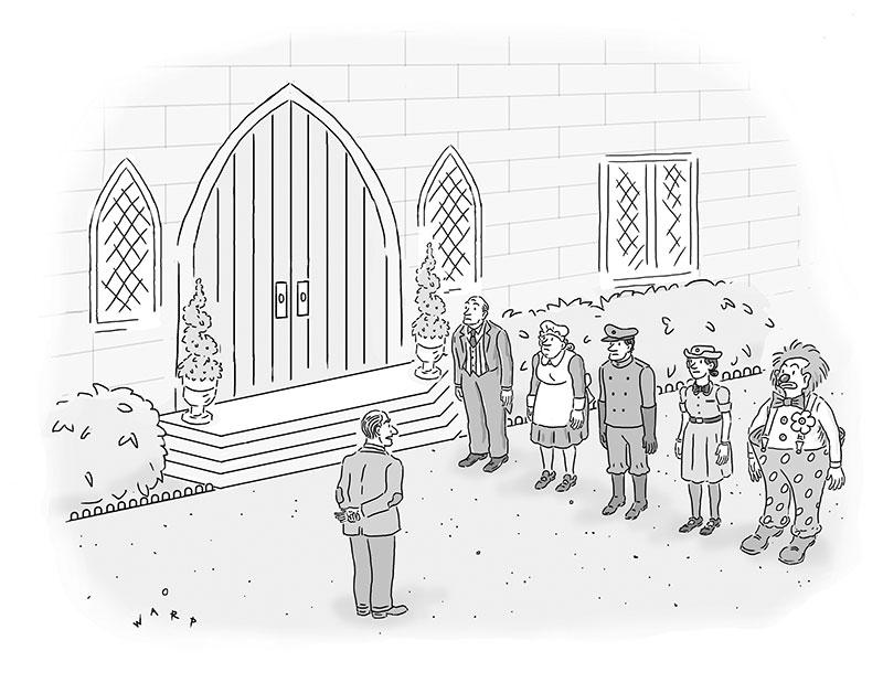 Cartoon Caption Contest - Kim Warp