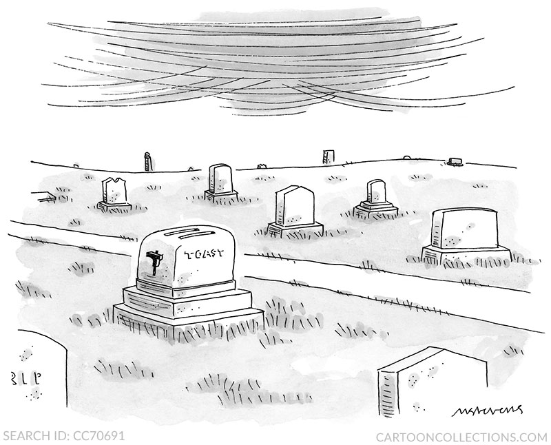 Mick Stevens Cartoons