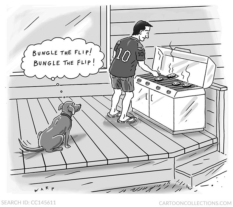 Kim Warp cartoons