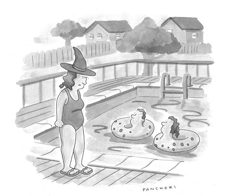 Cartoon Caption Contest Drew Panckeri