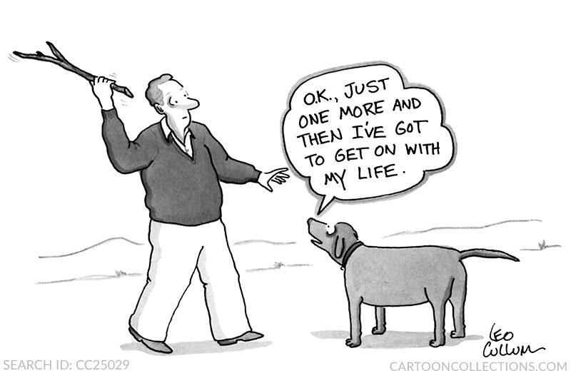 Leo Cullum dog cartoons