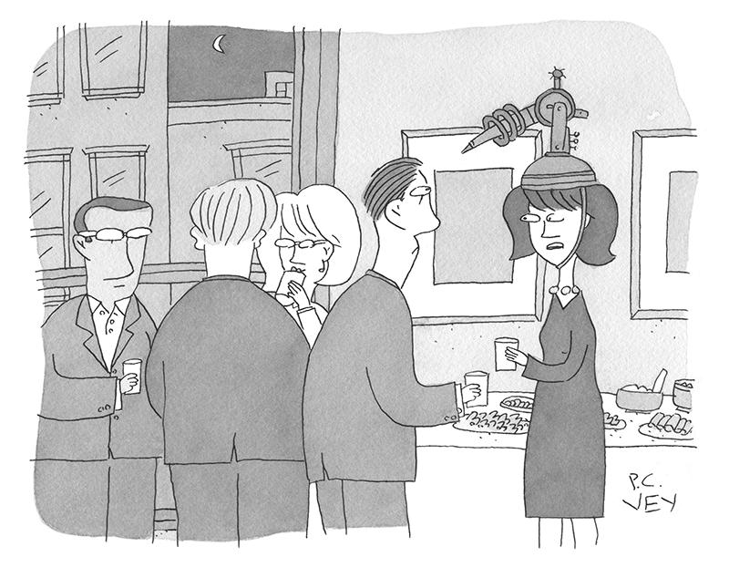 Cartoon Caption Contest - P.C. Vey