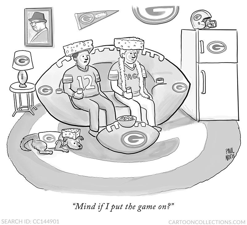 Paul Noth football cartoons