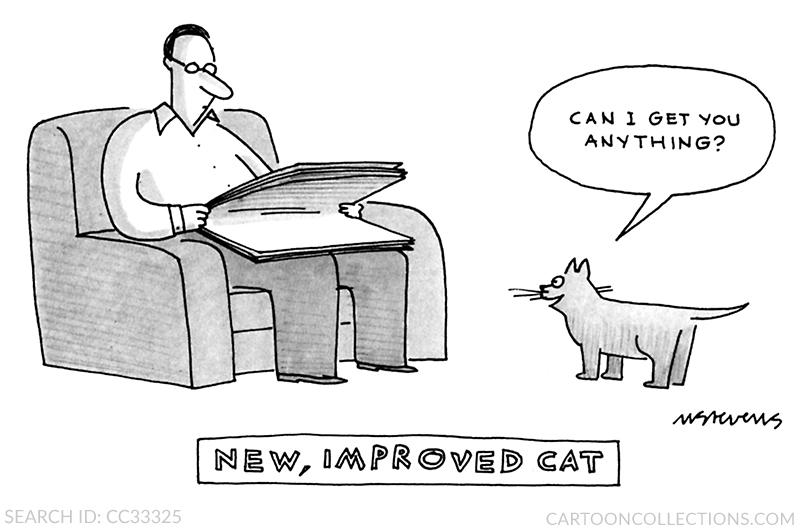 cat cartoons, mick stevens