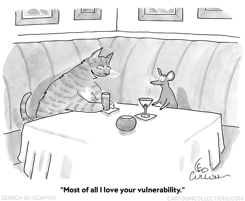 Cat cartoons, Leo Cullum