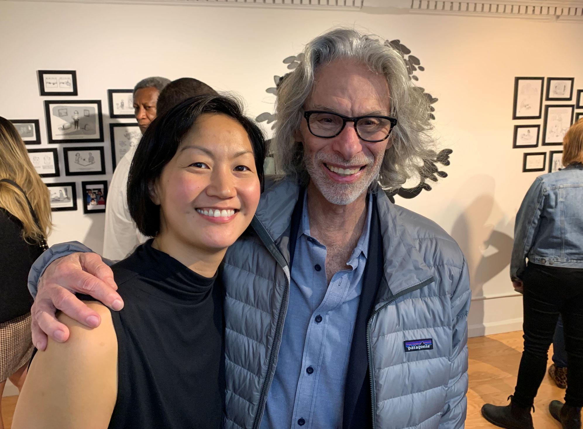 Amy Hwang and Bob Mankoff