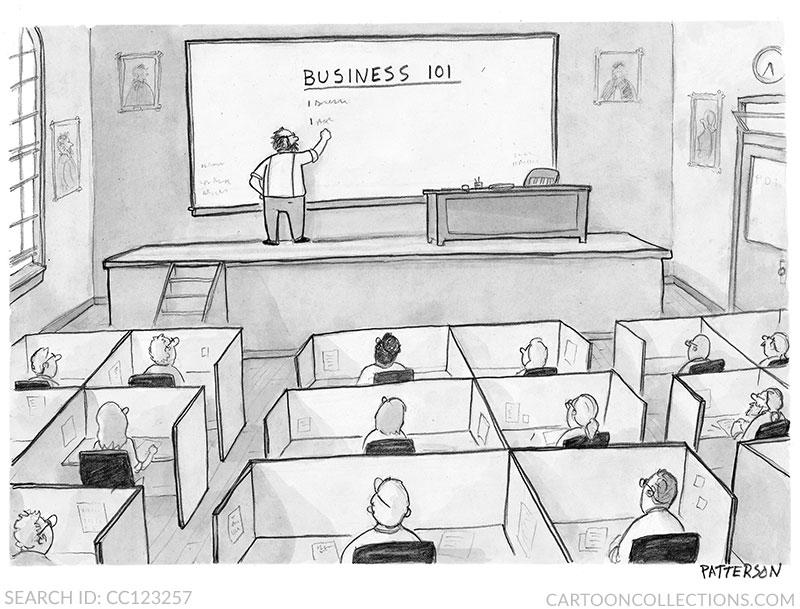 Jason Paterson business cartoons